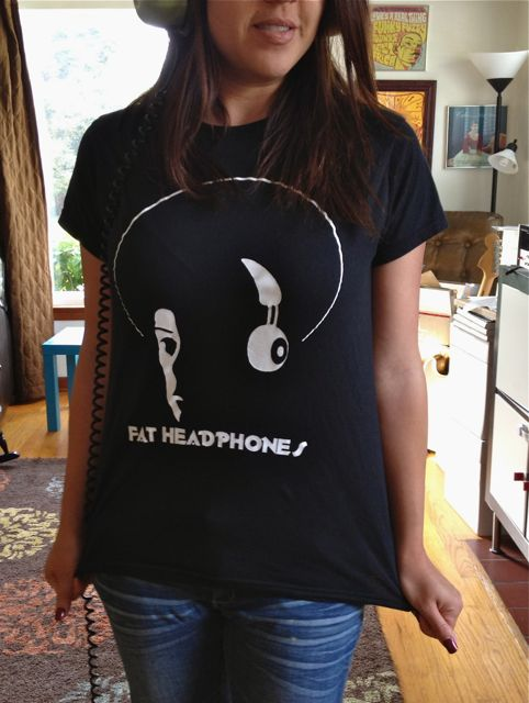 Fat Headphones Record Shop