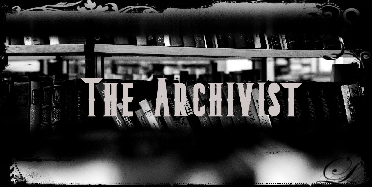 The Archivist Merch